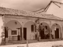 Along the square - Villa De Leyva