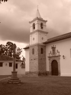 Main Church - Villa De Leyva
