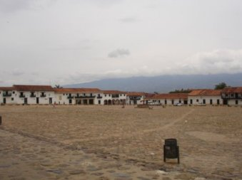 The main square