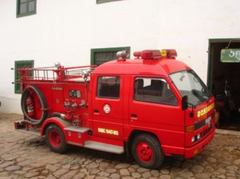 The smallest fire engine