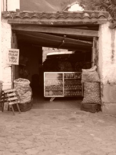 Traditional Fruit Store