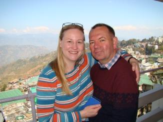 Enjoying our first day in Darjeeling