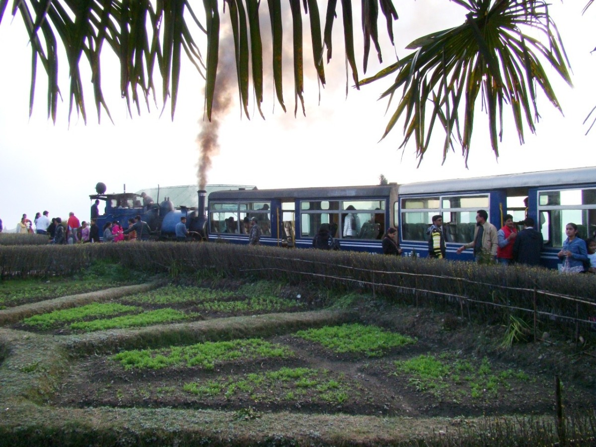 Batasia Loop on the Darjeeling Himalayan Railway